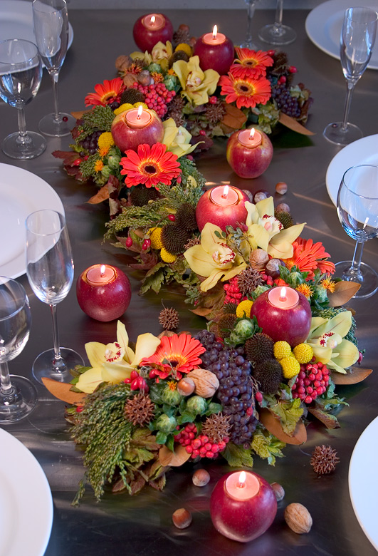 Apple Harvest Centerpiece