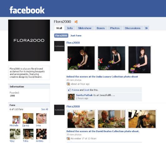 Flora2000 Fan page