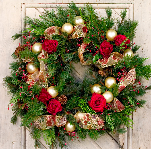 Festive Holiday Wreaths
