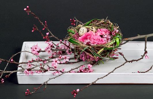 A Floral Nest