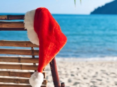 while countries in north america and europe typically use fir trees warm weather countries and island nations often turn palm trees into christmas trees - Summer Christmas