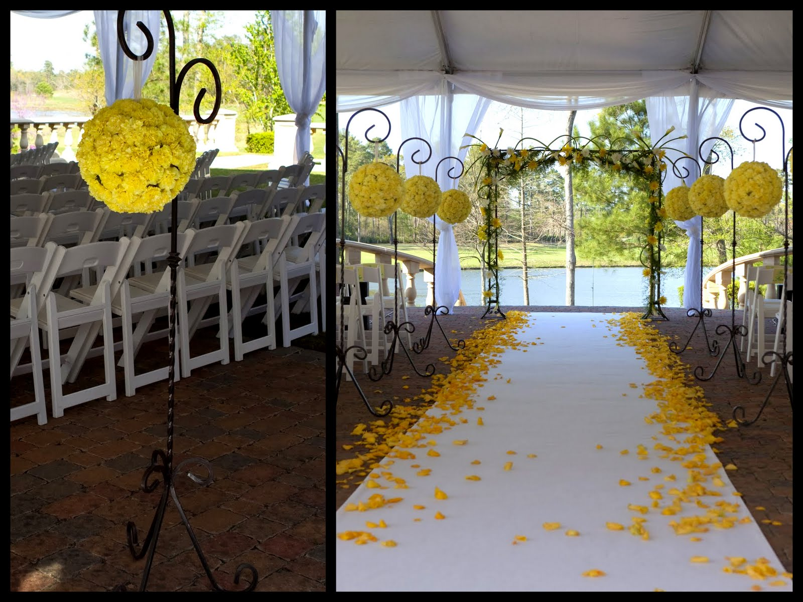 10 ways in which flowers make your wedding a memorable for Aisle decoration