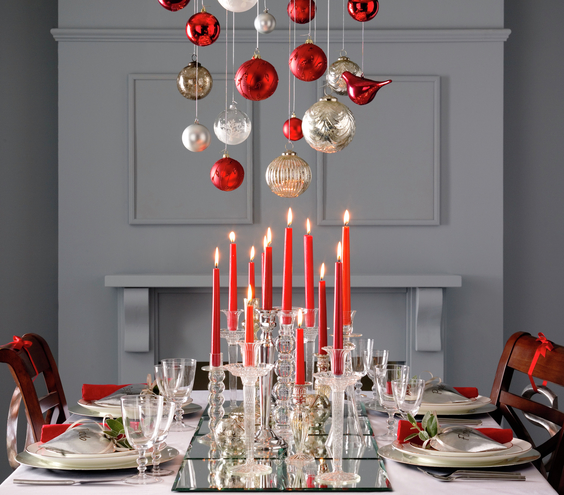 Christmas Decorating Ideas For Dining Room Chandelier Best – Chandelier Decoration Ideas