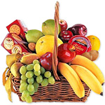 Cheese, Crackers & Fruit BasketSale! $5 off