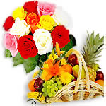 Fresh Fruits and Flowers