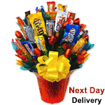 Snack Bar Bouquet for Her Sale! $ 10 Off