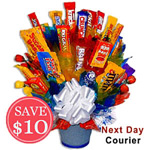 Snack Bar Bouquet for Him Sale! $ 10 Off