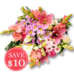 Blooming Beauty Sale! $ 10 Off
