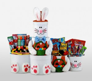 Easter Bunny Sweets & Treats Gift Basket