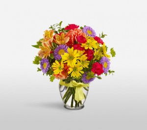 Exotic Seasonal Flower Arrangement