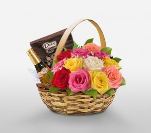 Grand Gourmet Basket For Birthdays