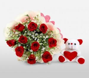 Red Roses For Birthdays