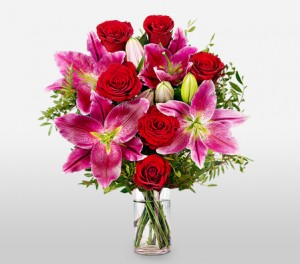 Lilies And Roses For The Perfect Woman