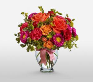 Rosemary Bright Flowers in Vase