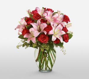 Love Divine Complimentary Vase