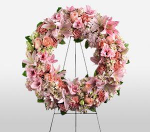 Warm Comfort - Funeral Wreath