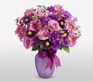 Charming Purple Blossoms