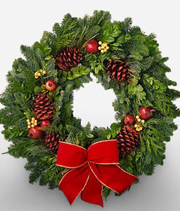 Winter Radiance Wreath <font color=red>Sale $10 Off</font>
