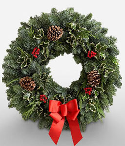 Big Festive Wreath