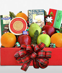 Festive Fruitbox-Fruit,Gourmet,Hamper