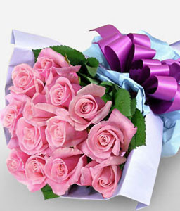 Tenderness-Pink,Rose,Bouquet