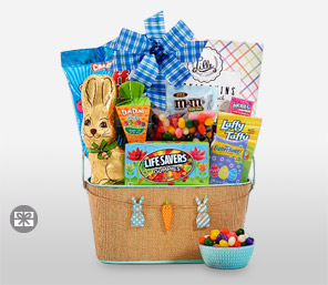 Send flowers to united states usa same day florist delivery easter egg hamper negle Gallery