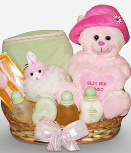Natura Little Princess Basket-New born baby,Basket,Hamper
