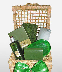 Natura Mens Collection-Spa,Basket,Hamper