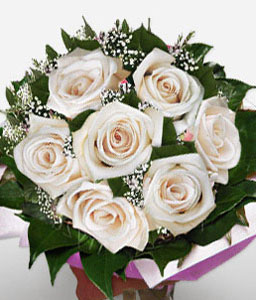 White Party-White,Rose,Bouquet