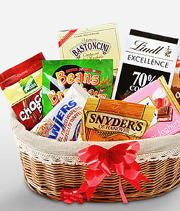 Sweets Basket-Chocolate,Basket