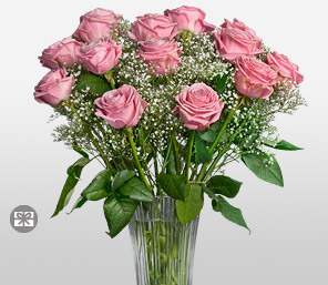 Timeless Blushes-Pink,Rose,Arrangement