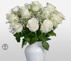 Pearl-White,Rose,Arrangement