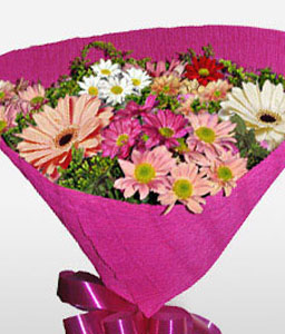 Ipanema-Mixed,Pink,Mixed Flower,Bouquet