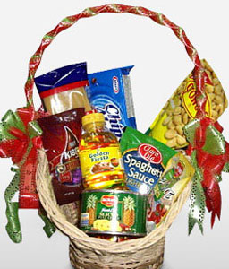 Celebration Basket-Gourmet,Basket,Hamper