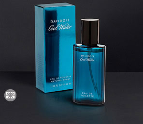 DavidOff Cool Water - 125 ML  <font color=red>For  Him</font>