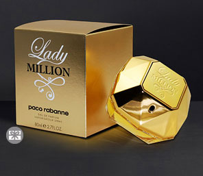 Paco Rabanne Lady million - 80 ML <font color=red>For  Her</font>