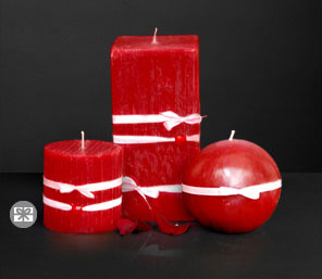 Aromas Of Love-Red,Spa,Candle