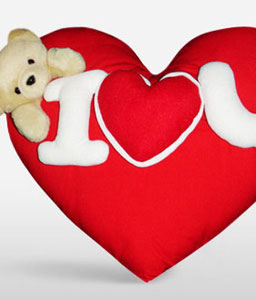 Romantic Heart Shape Pillow-Soft Toys