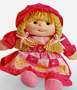 Small Rag Doll By Coralyn-Soft Toys