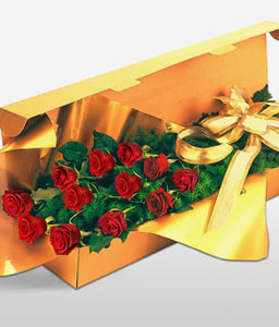 Pure Love-Red,Rose,Bouquet