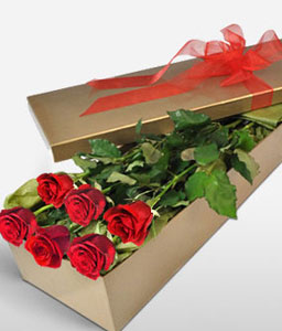 Love In Bloom-Red,Rose,Bouquet