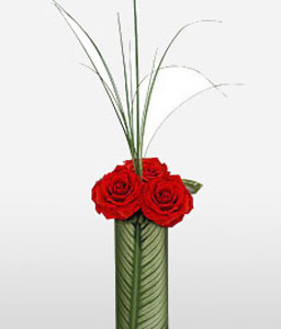 In Romantic Mood-Red,Rose,Arrangement