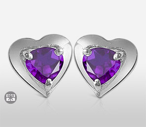 Wondrous Amethyst Earrings
