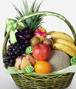 Supreme Fruit Basket-Fruit,Gourmet,Basket,Hamper