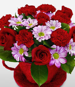 Red Blooms-Red,Rose,Arrangement