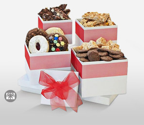 Assorted Cookie Fantasy-Chocolate,Gourmet,Basket