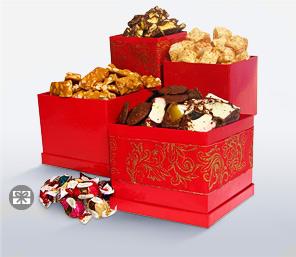 Choc-In-Boxes-Red,Chocolate,Basket,Gifts