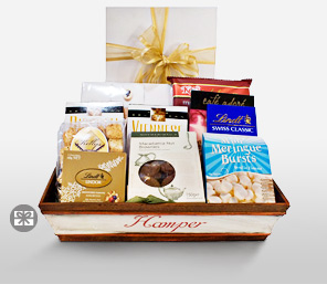 Chocolate Overdose Basket-Chocolate,Gourmet,Basket,Gifts