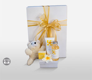Frangipani Pamper Hamper????-Spa,Gifts