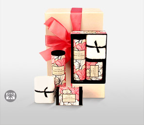 Lychee & Cherry Blossom Surprise-Spa,Gifts